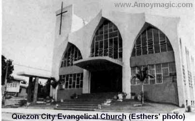 Quezon City Evangelical Church (photo by Joe and Marion Esther)