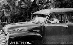 Joe Esther by car in the Philippines