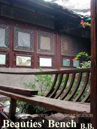 Beauty Benches in old Fuzhou town