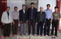 Fuzhou Muslims that I met in the Qingjing Mosque