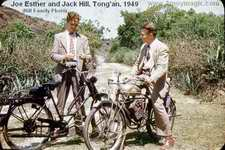 Jack Hil and Joe Esther in Tong'an 1949