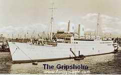 The S.S. Gripsholm helped repatriate foreigners during the war between China and Japan