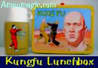 David Carradine and Kung Fu lunch box and thermos.  I wanted one when I was a kid!