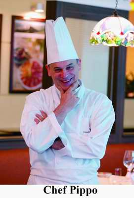 Chef Pippo of the Portofino Restaurant Millennium Harbourview Xiamen