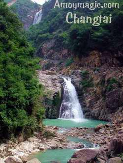 Beautiful Changtai rivers, falls, pools, mountains