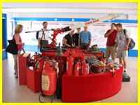 some of Xiamen's hi-tech fire fighting equipment