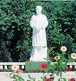 Statue of Lin Qiaozhi, Pioneer woman doctor of gynecology and obstetrics in China.  In Yu Garden, on Gulangyu Islet  Amoy Magic--Guide to Xiamen and Fujian (tourism, business, research, study, language, culture, history, deng deng!