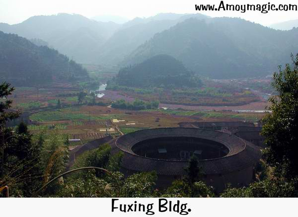 Hakka roundhouse earthen house mistaken by NASA and CIA for missile silo in Fujian China