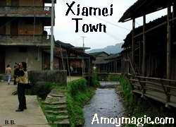 ancient xiamei town wuyi